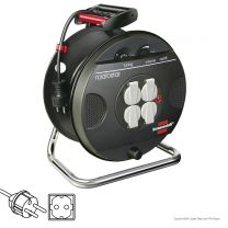 Brennenstuhl KMR Cable Reel with FM Radio