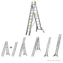 Brennenstuhl Multi-Purpose 3-Section-Ladder Premium