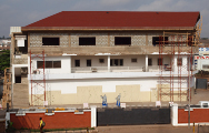 Extension of Accra building