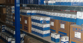 Spare Parts in our Warehouse