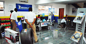 Waiting Area of our Tyre Centre