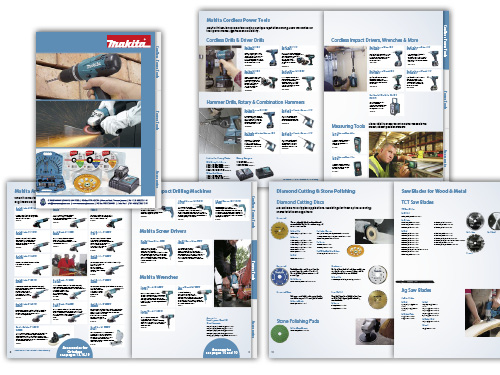 Download our new Catalogue of Makita Power Tools and Accessories - C