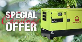 Pramac Special Christmas Offer till December 23rd. Click here for details.