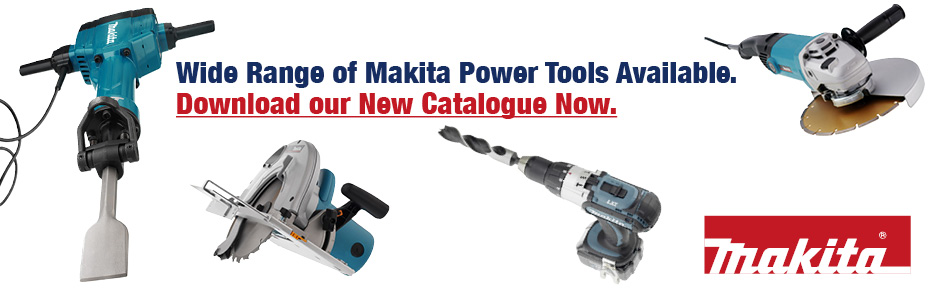Download now: Our new Makita Power Tools Catalogue