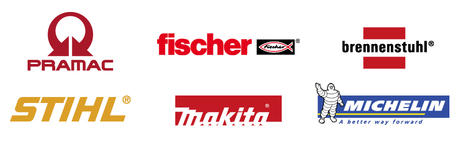 Some of our brand name manufacturers.