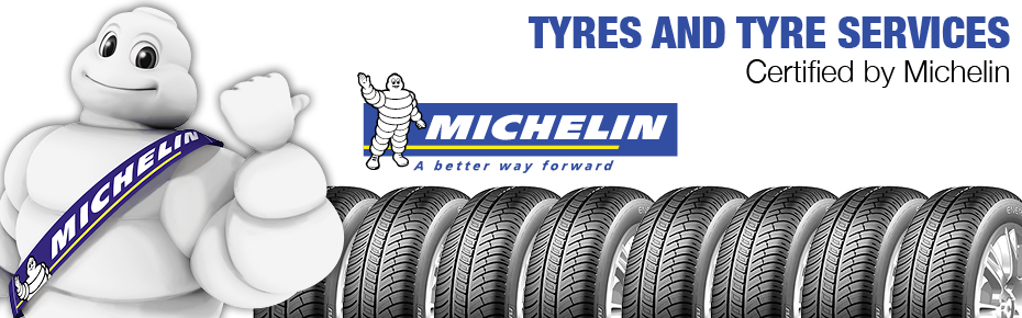 Michelin tyres and services at C.Woermann Ghana
